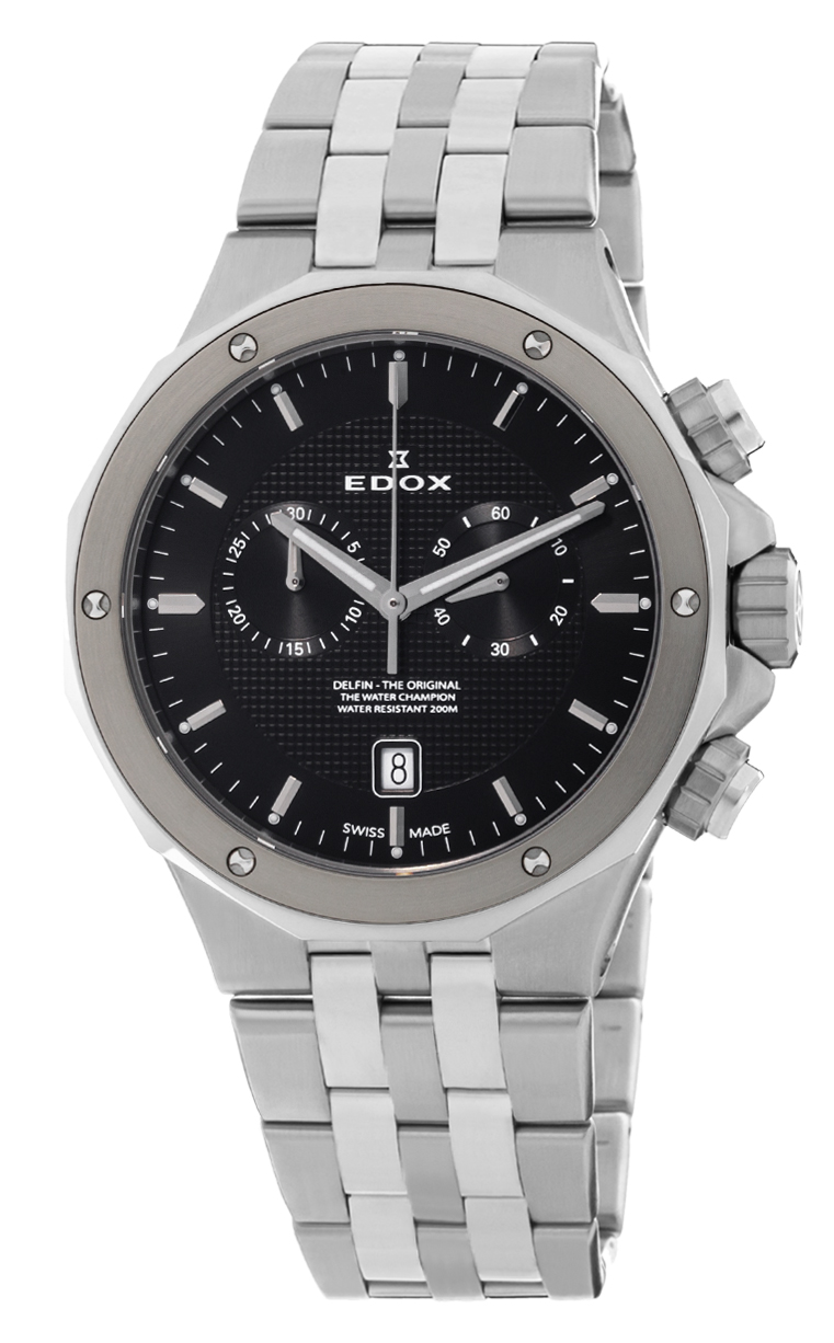 Часы Edox Delfin Chronograph 10110 3M NIN