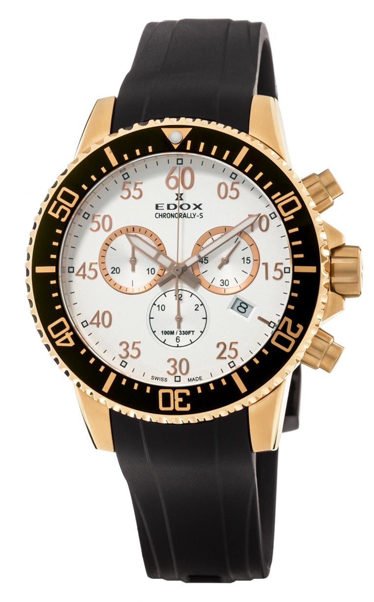 Часы Edox Chronorally-S Chronograph 10227 37RCA ABR