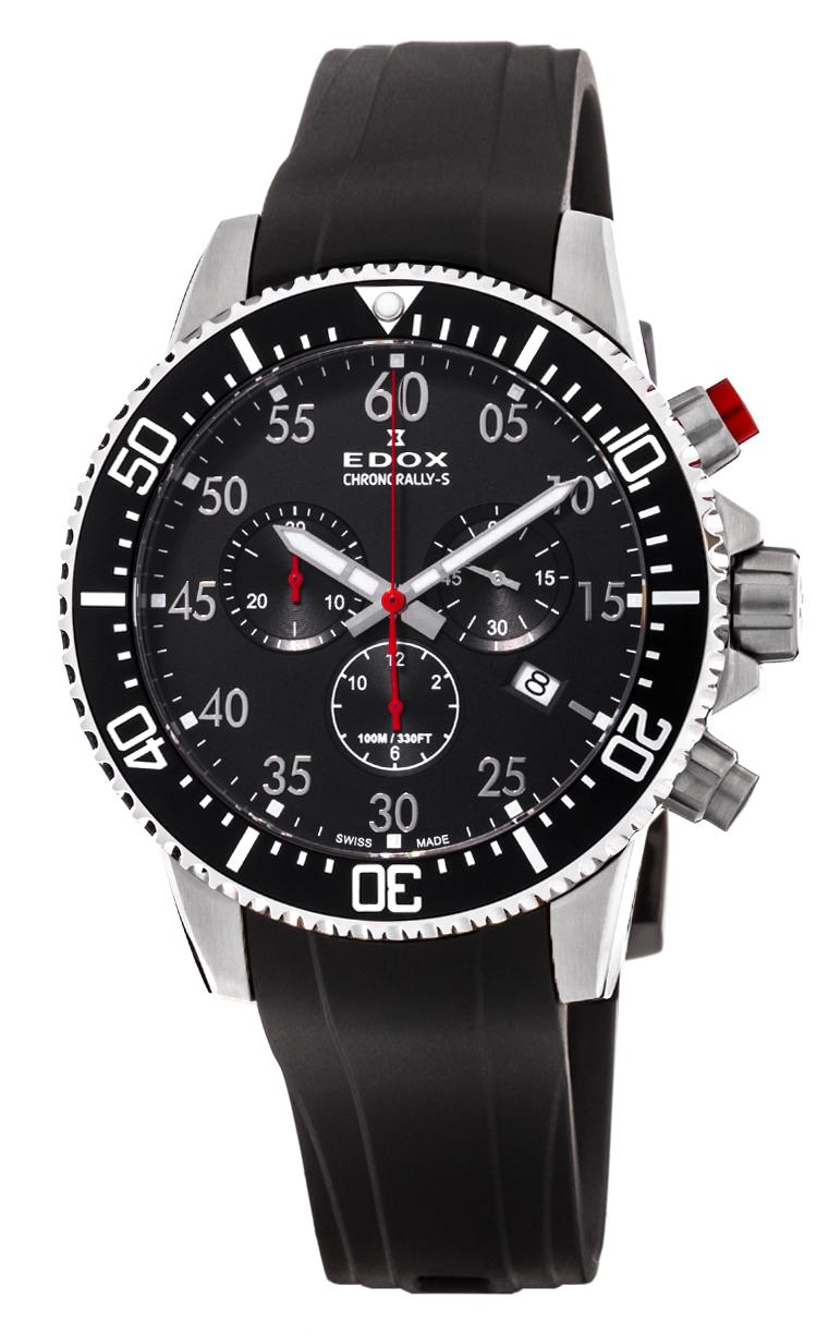 Часы Edox Chronorally-S Chronograph 10227 3CA NBN