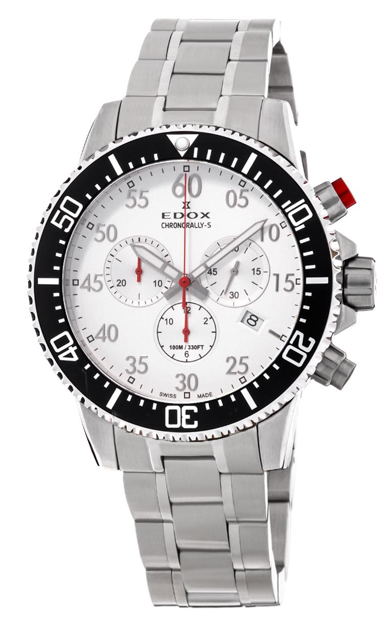 Часы Edox Chronorally-S Chronograph 10227 3M ABN