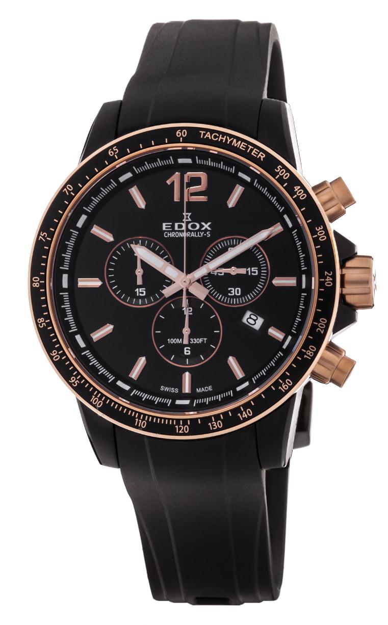 Часы Edox Chronorally-S Chronograph 10229 357NRCA NIR