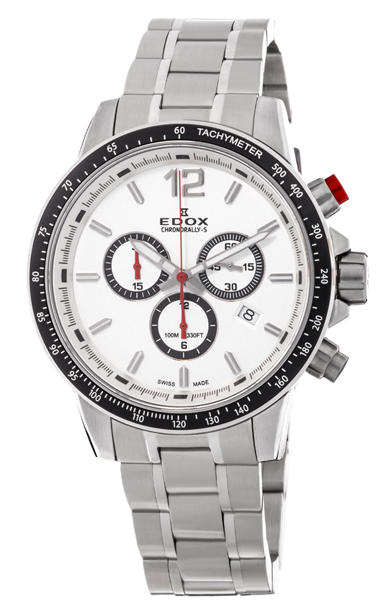 Часы Edox Chronorally-S Chronograph 10229 3M AIN
