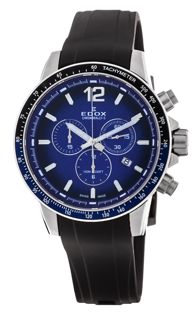 Часы Edox Chronorally-S Chronograph 10229 3NBUCA BUIN