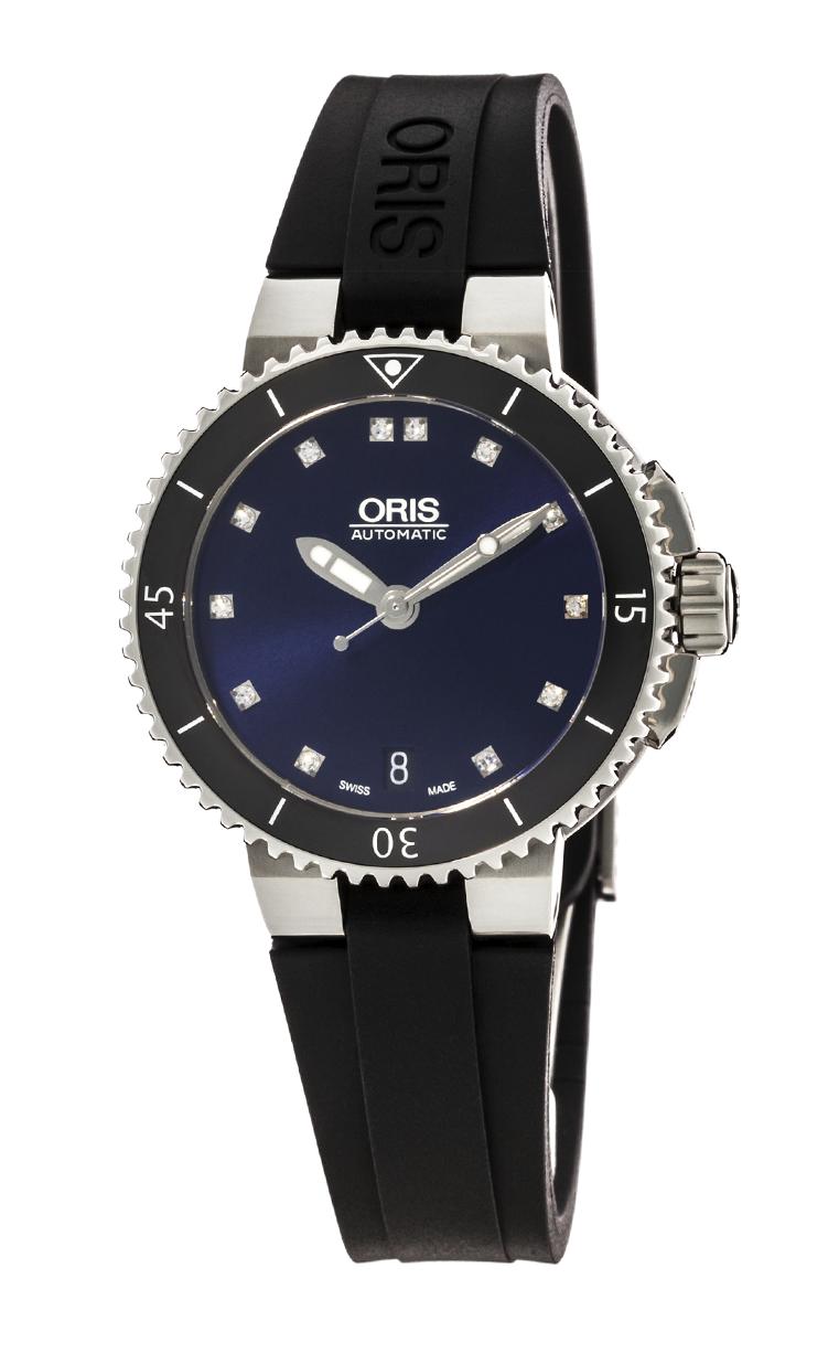 Часы Oris Aquis Date Diamonds 733 7652 4195 RS 4 18 34