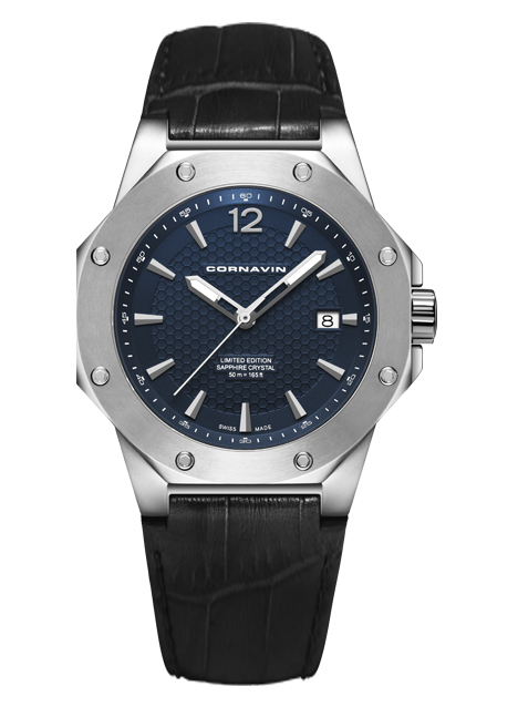 Часы Cornavin CO 2021-2004 Downtown 3-H 41mm