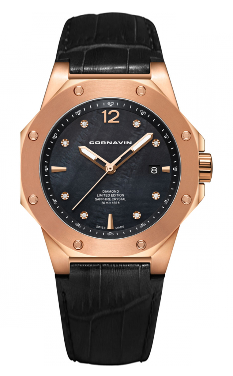 Часы Cornavin CO 2021-2024D Downtown 3-H 41mm
