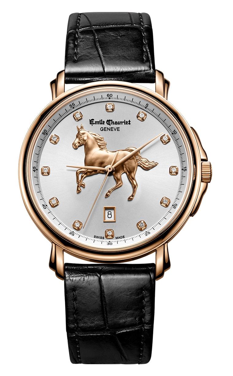 Часы Emile Chouriet Lac Leman 42 mm 00.1168.G42.4.2.2H.2