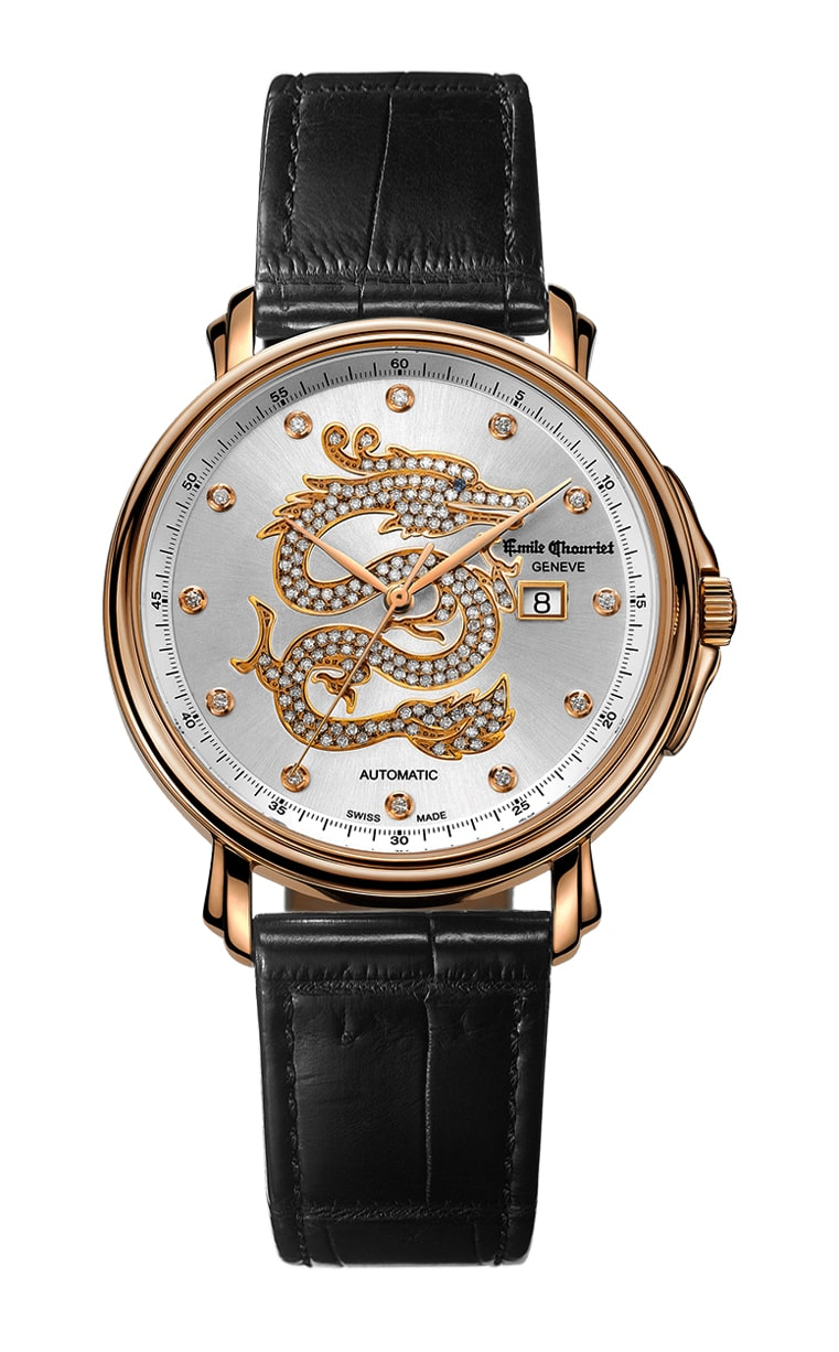 Часы Emile Chouriet Lac Leman 38 mm 01.1168.G38.4.2.22.2