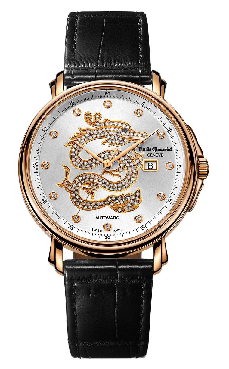 Часы Emile Chouriet Lac Leman 42 mm 01.1168.G42.4.2.22.2