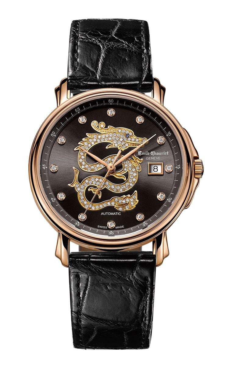 Часы Emile Chouriet Lac Leman 38 mm 01.1168.G38.4.2.62.2