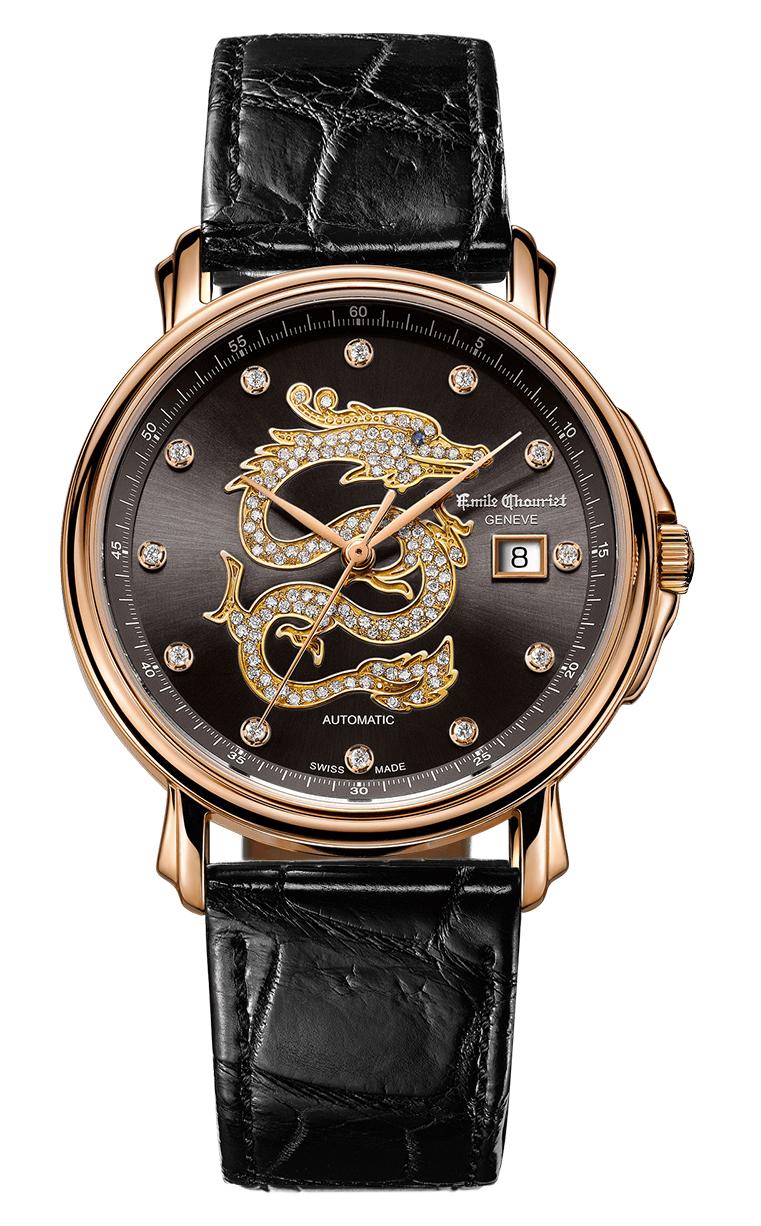 Часы Emile Chouriet Lac Leman 42 mm 01.1168.G42.4.2.62.2