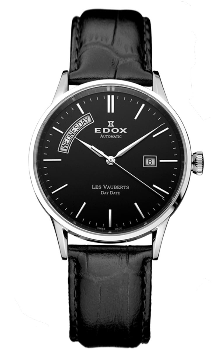 Edox Les Vauberts Day Date Automatic 83007 3 NIN