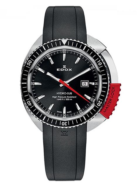 Edox Hydro-Sub 3-Hands 53200 3NRCA NIN