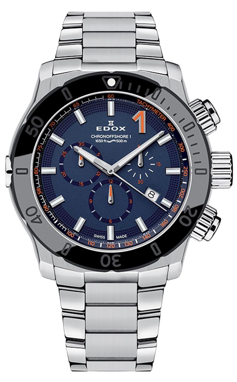 Edox Class-1 Chronograph 10221 3NM BUINO