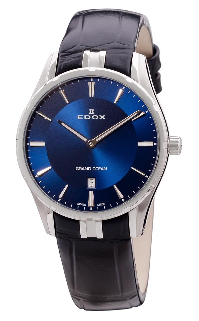 Часы Edox Grand Ocean Slim Line Date 56002 3C BUIN