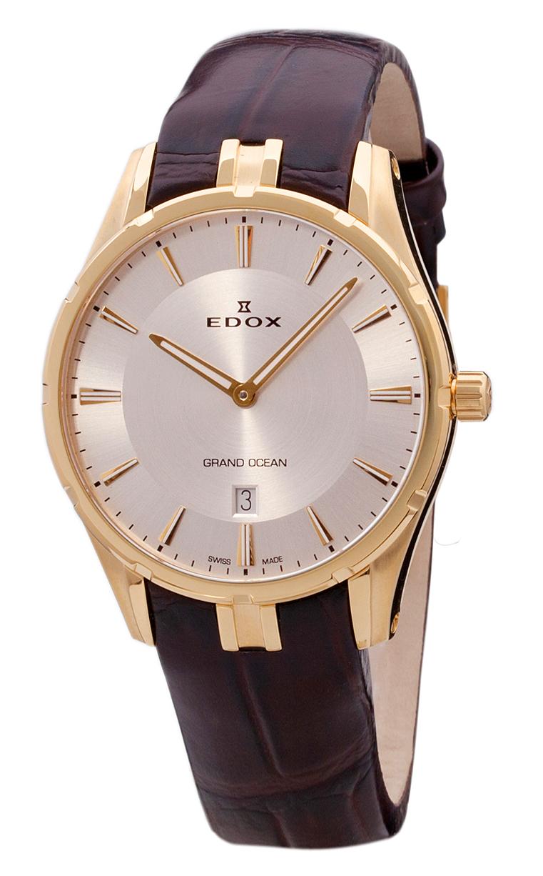 Часы Edox Grand Ocean Slim Line Date 56002 37JC AID