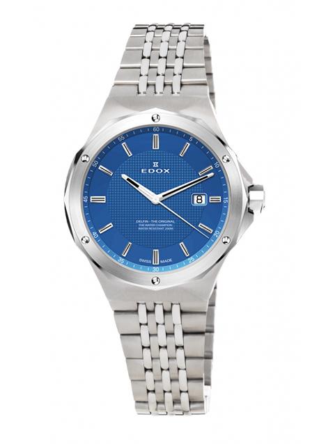 Edox Delfin 3-Hands 54004 3M BUIN
