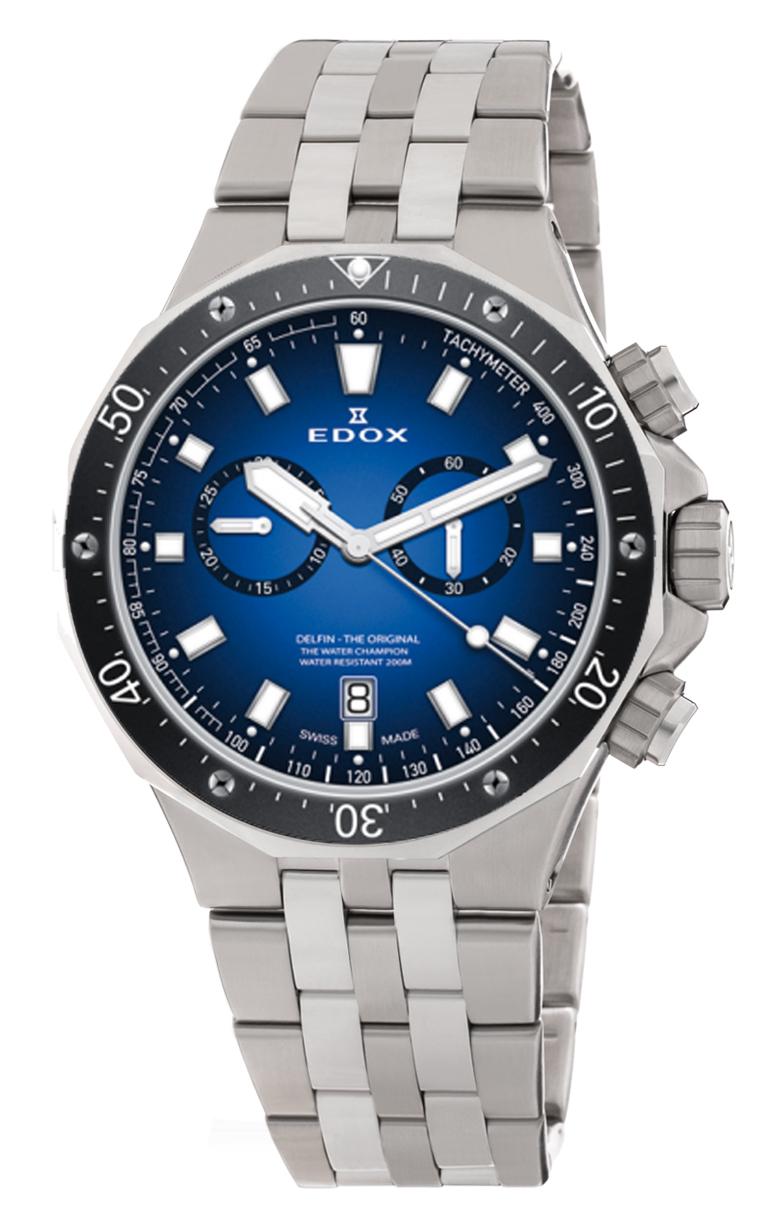 Часы Edox Delfin Chronograph 10109 3M BUIN