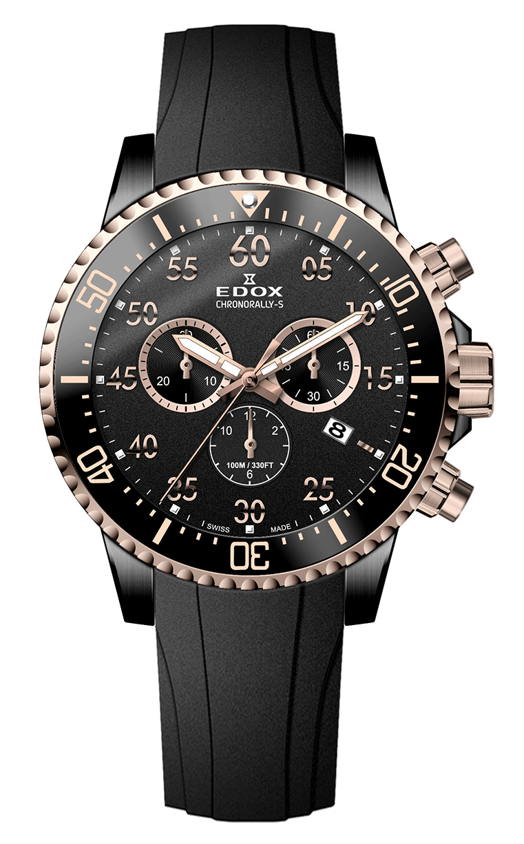 Edox Chronorally-S Chronograph 10227 357RNCA NBR