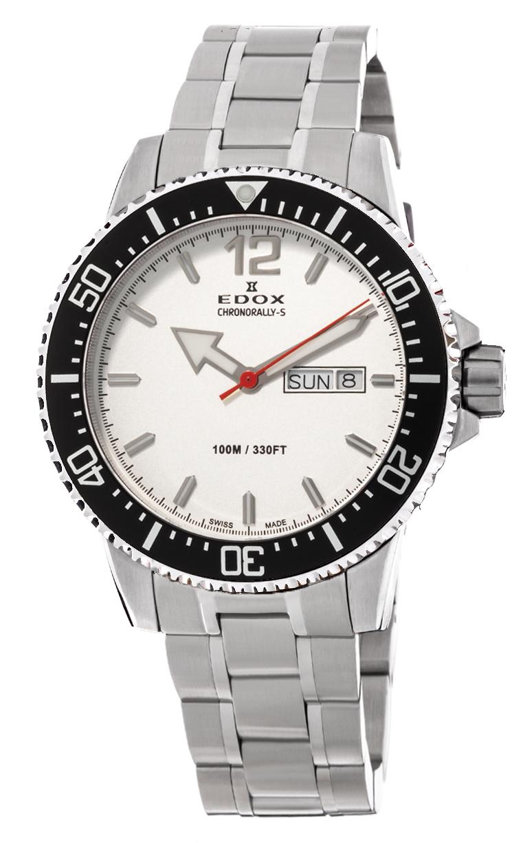 Часы Edox Chronorally-S 3-Hands 84300 3M ABN