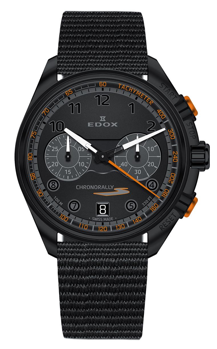 Часы Edox Chronorally-S Chronograph 09503 37NNONAN NNO