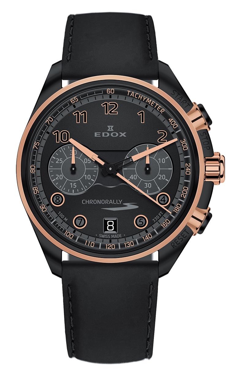 Часы Edox Chronorally-S Chronograph 09503 37NRCN NNR купить в Харькове, Киеве, Украине