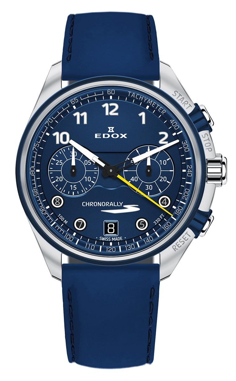 Часы Edox Chronorally-S Chronograph 09503 3BUCBU BUBG