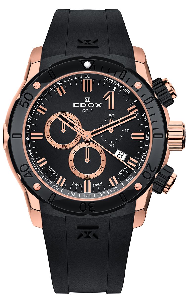 Часы Edox CO-1 Chronograph 10221 357RN NIR7