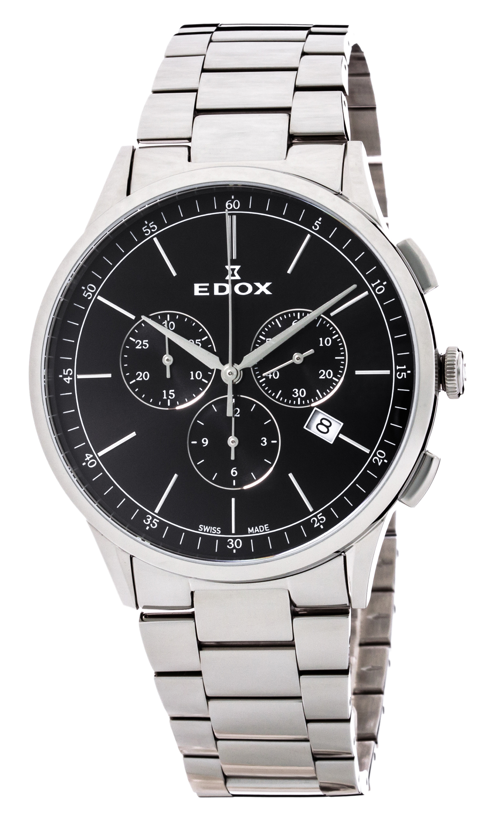 Часы Edox Les Vauberts Chronograph Date 10236 3M NIN