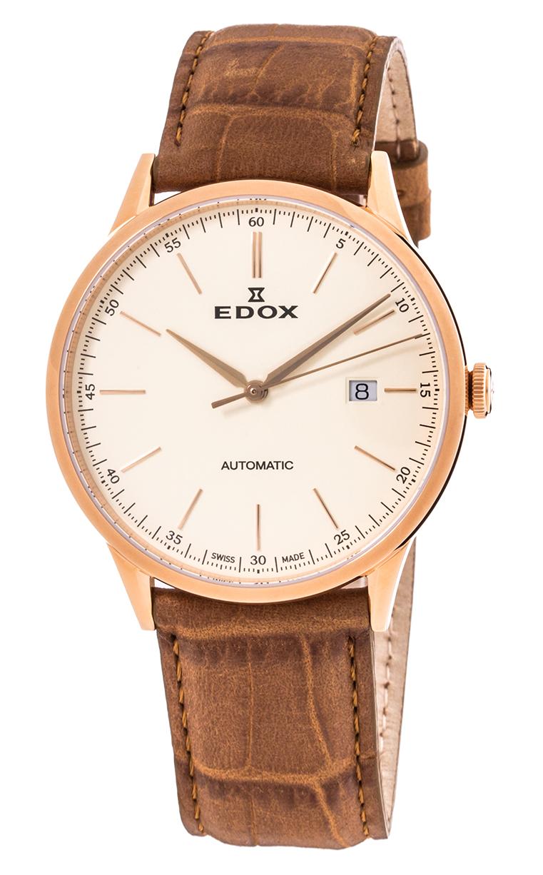 Edox Les Vauberts Automatic Date 80106 37RC BEIR