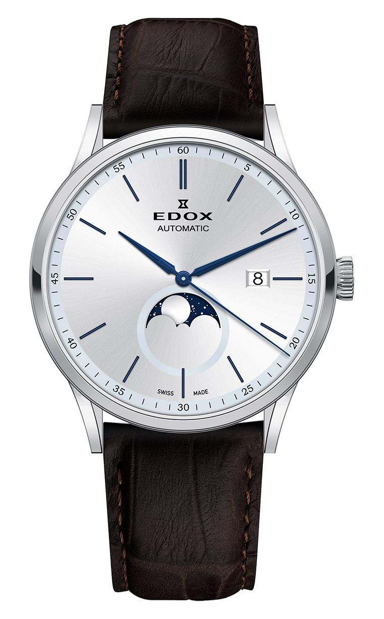 Часы Edox Les Vauberts La Grande Lune Automatic 80500 3 AIBU