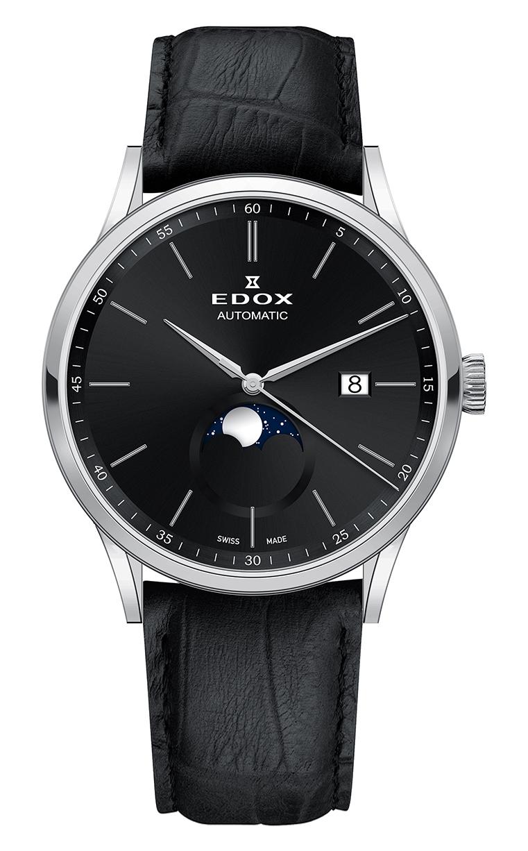 Часы Edox Les Vauberts La Grande Lune Automatic 80500 3 NIN