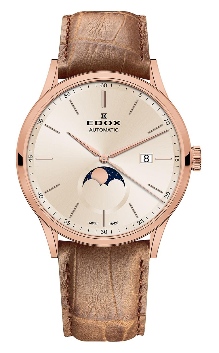 Часы Edox Les Vauberts  La Grande Lune Automatic 80500 37R BEIR