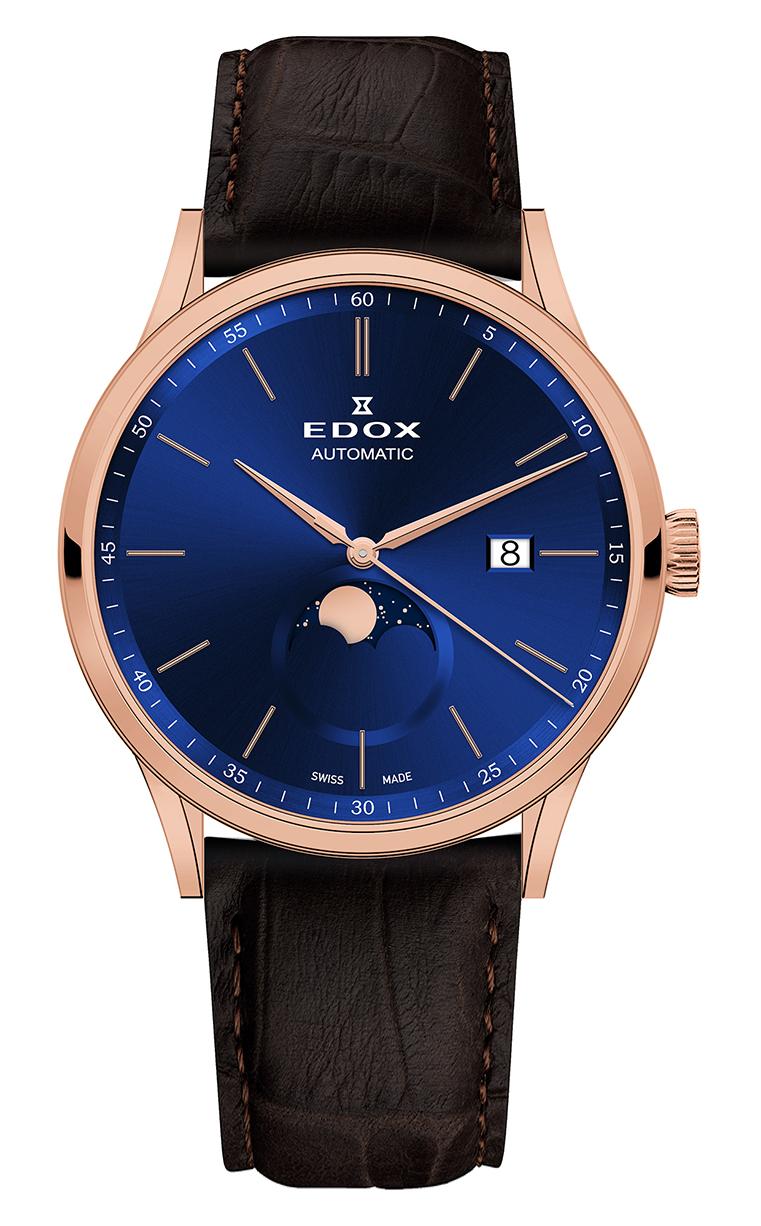 Часы Edox Les Vauberts La Grande Lune Automatic 80500 37R BUIR
