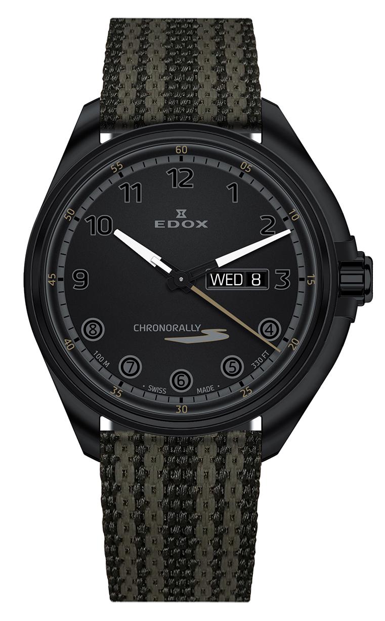 Часы Edox Chronorally-S Day-Date 84301 37NNNAG NNV