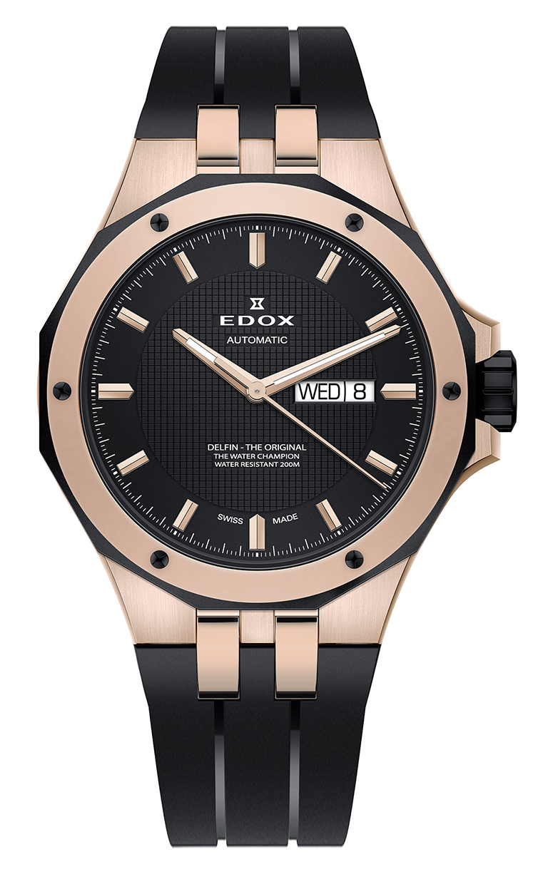 Часы Edox Delfin Day/Date Automatic 88005 357RNCA NIR