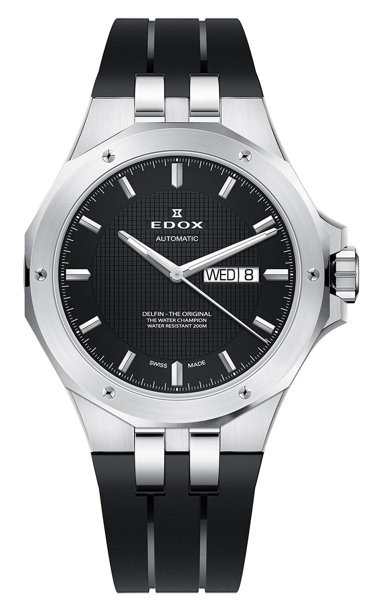 Часы Edox Delfin Day/Date Automatic 88005 3CA NIN