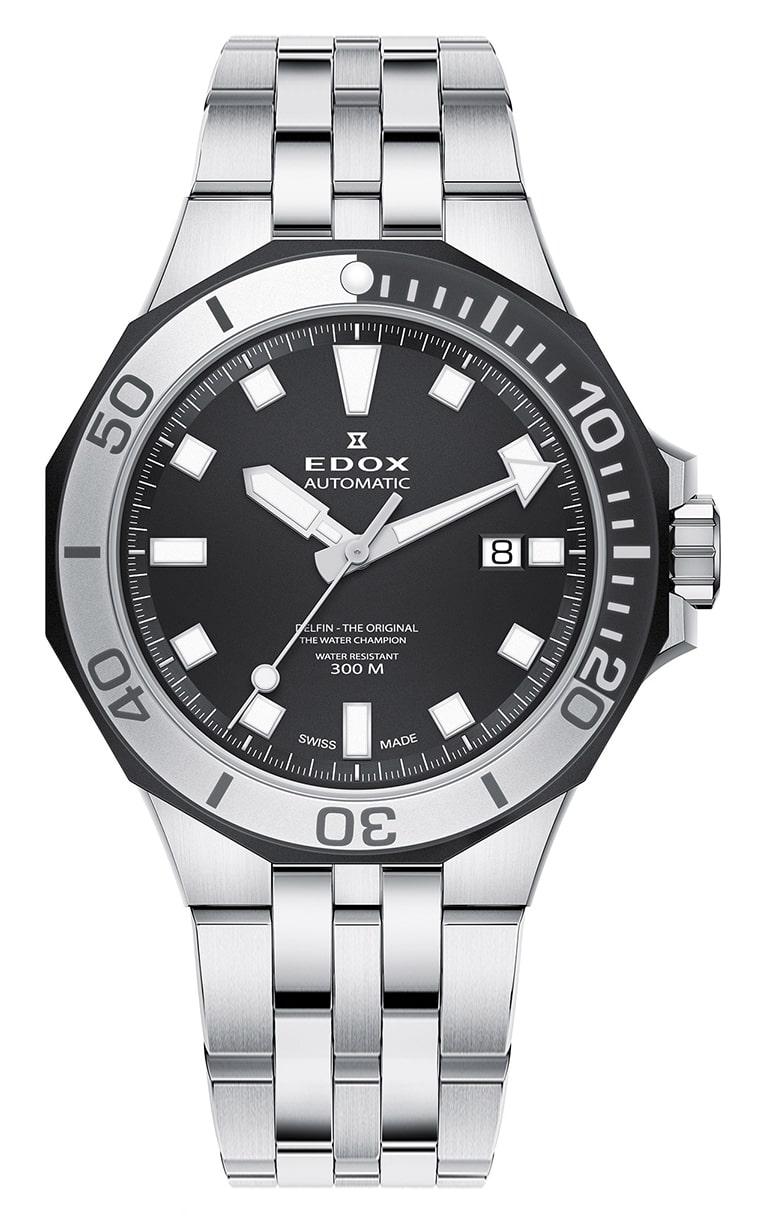 Часы Edox Delfin Diver Automatic Date 80110 357NM NIN