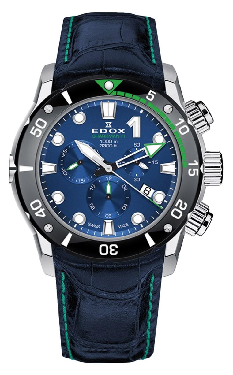 Часы Edox CO-1 SHARKMAN III 10241 TIV BUIN Limited Edition