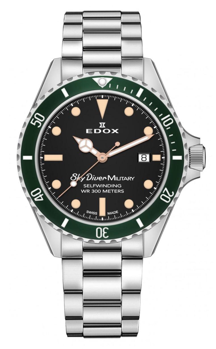 Часы Edox SkyDiver Military L.E. 80112 3VM NIBEI