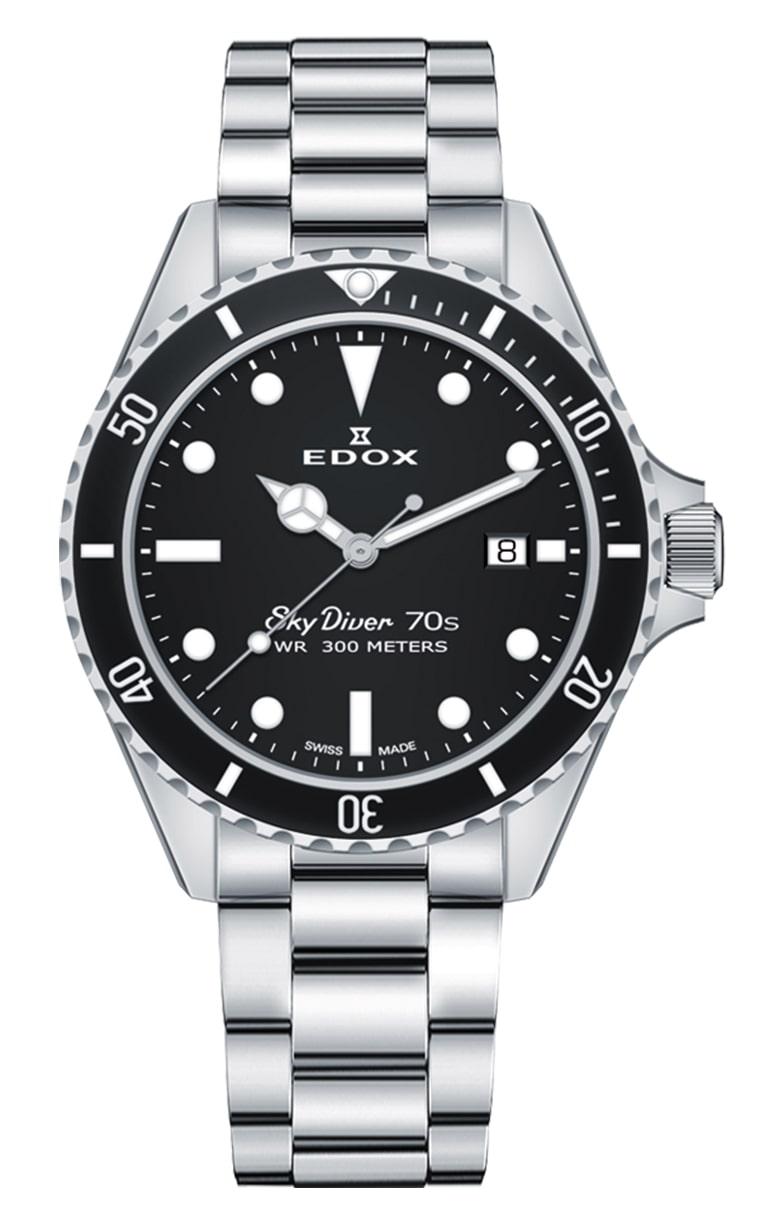 Часы Edox SkyDiver 70s Date 53017 3NM NI