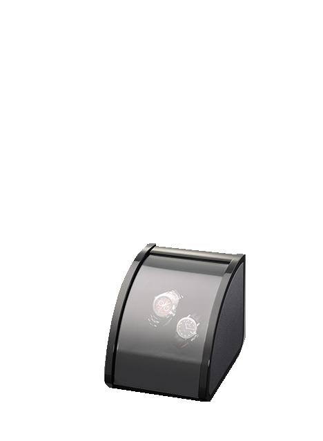 Шкатулка Elma Motion Style II Black High Glossy Leather 1038238