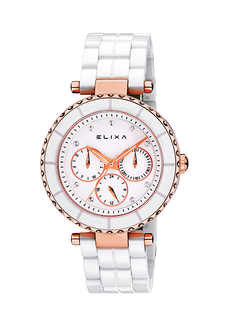 Часы Elixa Ceramica E077-L284