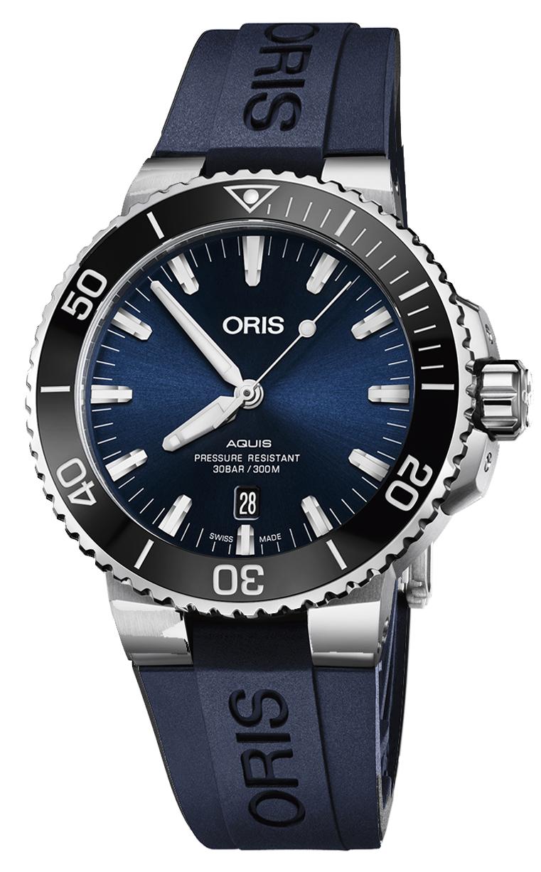 Oris Diving Aquis Date 733.7730.4135 RS 4.24.65EB
