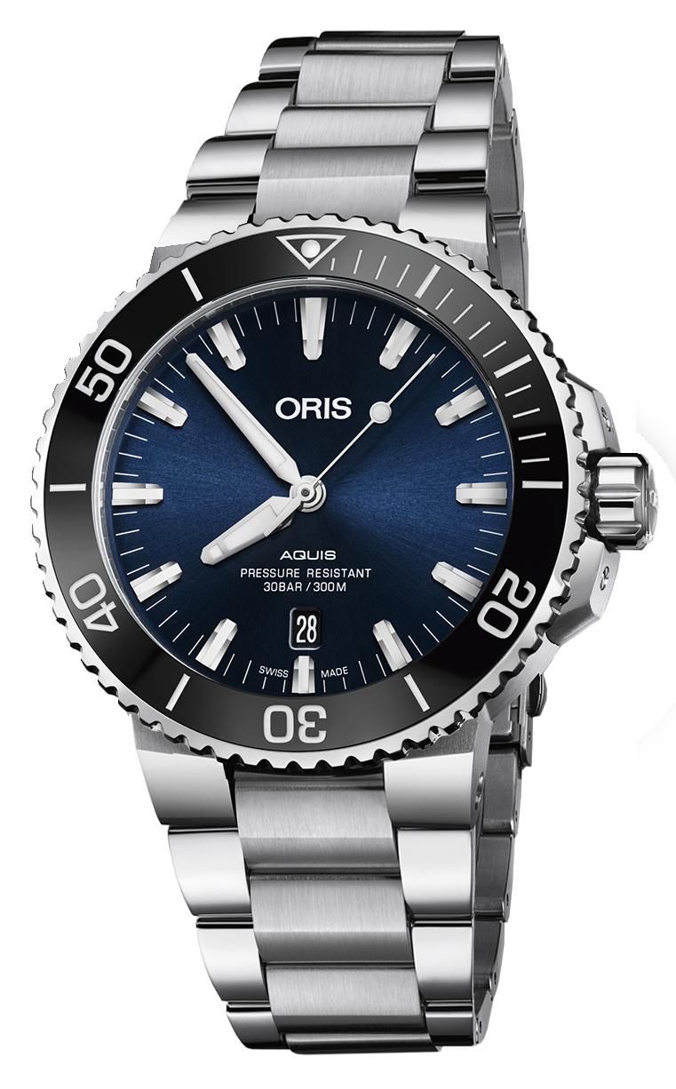 Oris Diving Aquis Date 733.7730.4135 MB 8.24.05PEB