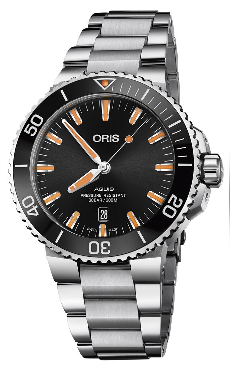 Oris Diving Aquis Date 733.7730.4159 MB 8.24.05PEB