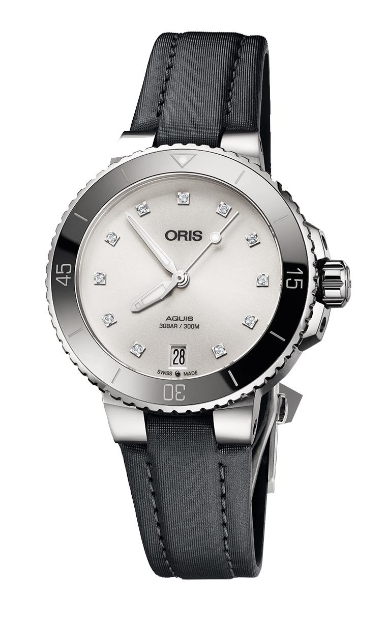 Часы Oris Diving Aquis Lady Diamonds 733.7731.4191 TS 5.18.45FC