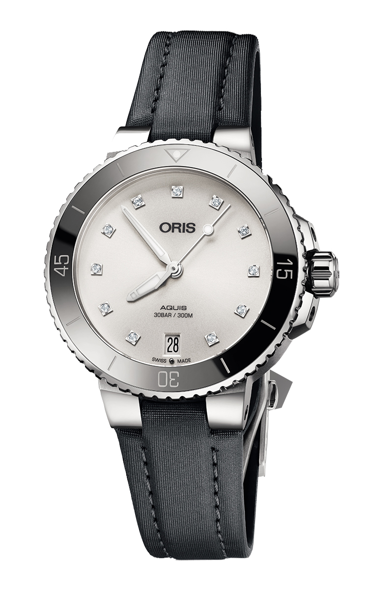 Oris Diving Aquis Lady Diamonds 733.7731.4191 TS 5.18.45FC