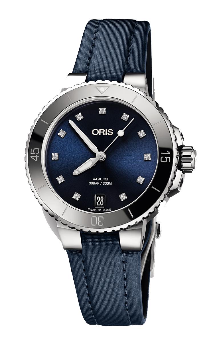 Часы Oris Diving Aquis Lady Diamonds 733.7731.4195 TS 5.18.46FC