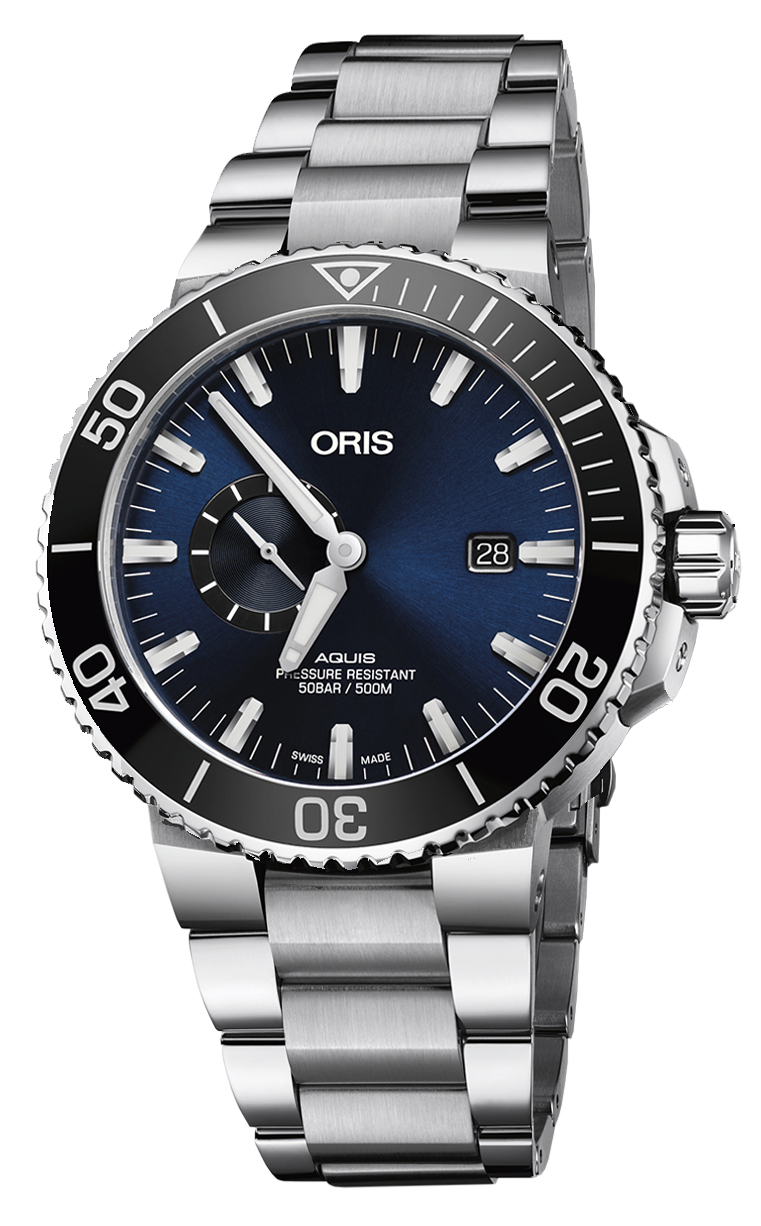 Oris Diving Aquis Small Second 743.7733.4135 MB 8.24.05PEB